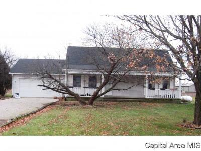Pleasant Plains Single Family Home For Sale: 12880 Walnut Woods