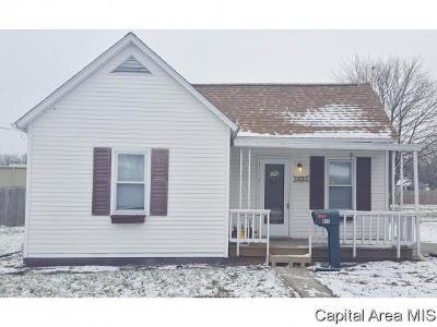 Virden Single Family Home For Sale: 932 N Noble St