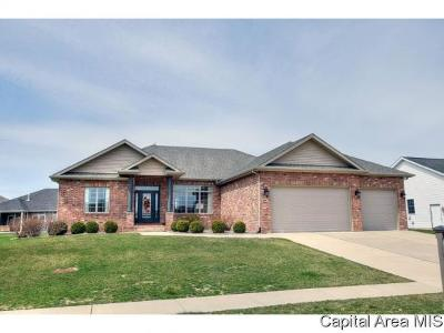 Springfield Single Family Home For Sale: 2817 Covered Wagon Trl