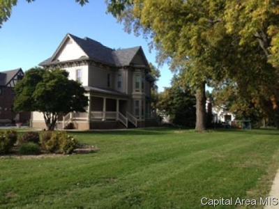 Jacksonville Single Family Home For Sale: 1106 W Lafayette