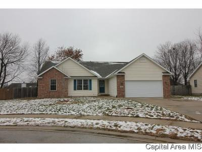 Sherman IL Single Family Home For Sale: $224,900