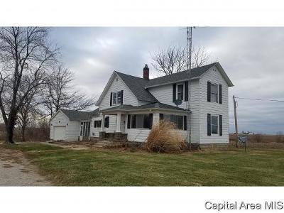 Girard Single Family Home For Sale: 31245 Jones Rd.
