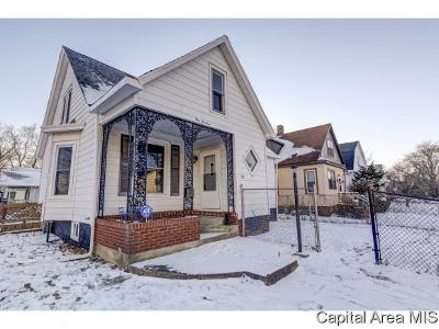 Springfield Single Family Home For Sale: 100 W Pine St