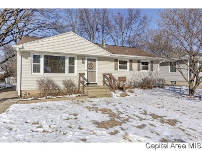 Springfield Single Family Home For Sale: 1801 W Iles Ave