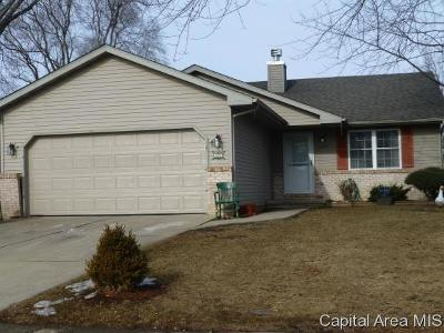 Springfield Single Family Home For Sale: 3025 Sutherland Rd
