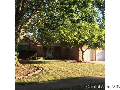 Springfield Single Family Home For Sale: 1308 Harmony Ct
