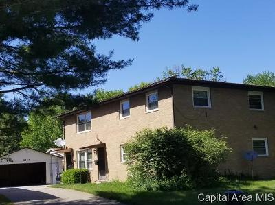 Springfield Multi Family Home For Sale: 2333 Gillespie St