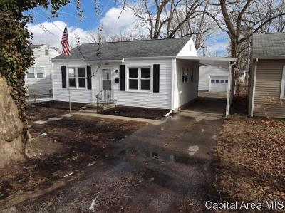 Springfield Single Family Home For Sale: 3424 S Lincoln Ave
