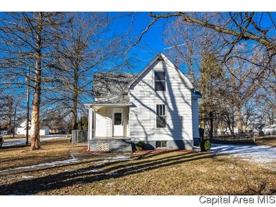 Girard Single Family Home For Sale: 303 N Harrison