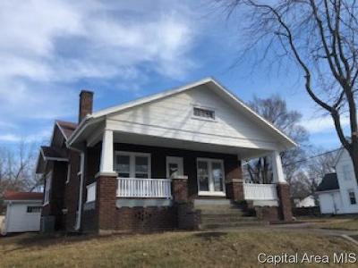 Jacksonville Single Family Home For Sale: 614 S Main St
