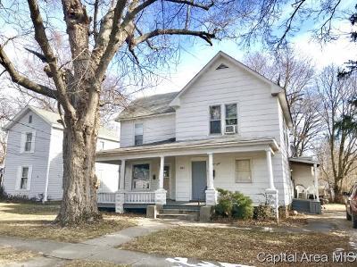 Jacksonville Multi Family Home For Sale: 540 S Prairie St