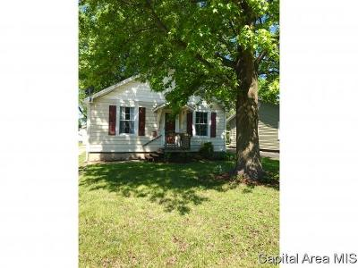 Jacksonville IL Single Family Home Pending Continue to Show: $71,500
