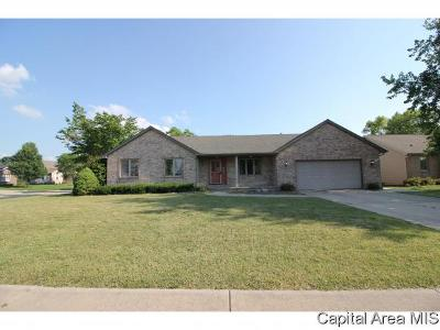 Chatham Single Family Home For Sale: 1020 Monarch Dr