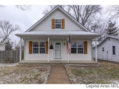Chatham Single Family Home For Sale: 313 W Locust St