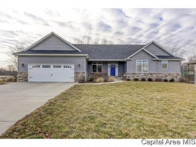 Sherman IL Single Family Home For Sale: $327,500