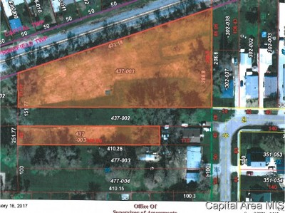 Springfield Residential Lots & Land For Sale: Keys & Wesley