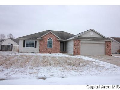 Sherman IL Single Family Home For Sale: $199,500