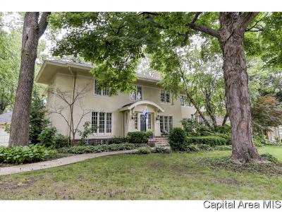 Springfield Single Family Home For Sale: 1122 W Woodland Ave