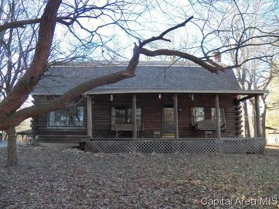 Pleasant Plains Single Family Home For Sale: 1447 S Spring Creek Rd