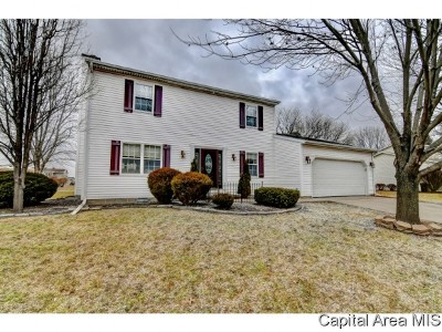 Sherman IL Single Family Home For Sale: $189,900