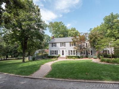 Springfield Single Family Home For Sale: 2129 Illini Rd