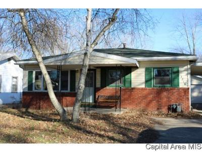 Springfield Single Family Home For Sale: 3316 Mars Ave