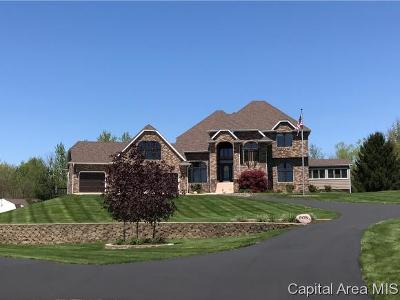 Sherman IL Single Family Home For Sale: $410,000