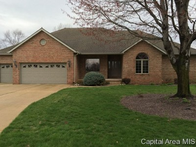 Springfield Single Family Home For Sale: 4601 Wildcat Run