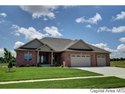 Springfield Single Family Home For Sale: 3608 Deer Run Dr
