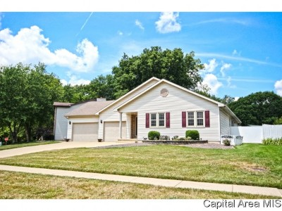 Springfield Single Family Home For Sale: 4471 Foxbury Ln