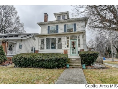 Springfield Single Family Home For Sale: 1701 S Douglas