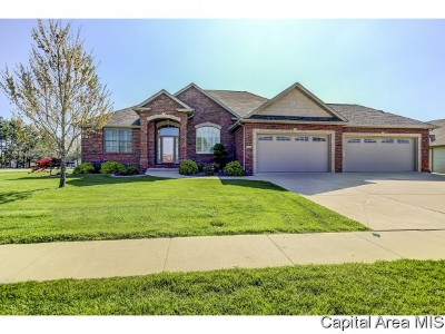 Springfield Single Family Home For Sale: 5404 Cromwell Pl
