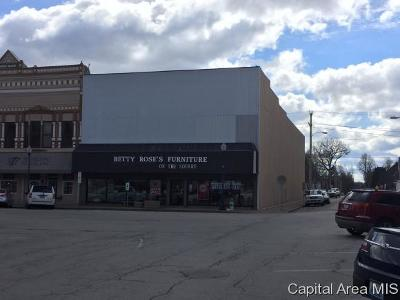 Taylorville IL Commercial For Sale: $175,000