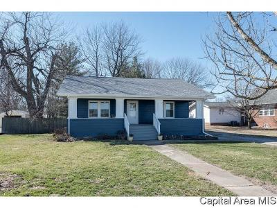 Taylorville IL Single Family Home Pending Continue to Show: $76,500