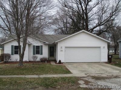 Auburn Single Family Home For Sale: 1020 W Jefferson St