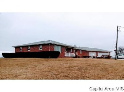 Virden Single Family Home For Sale: 34987 Lead Line Rd