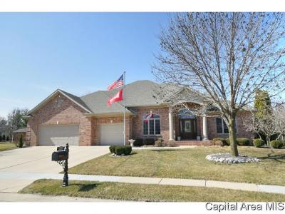 Springfield Single Family Home For Sale: 1705 Catherine Ct