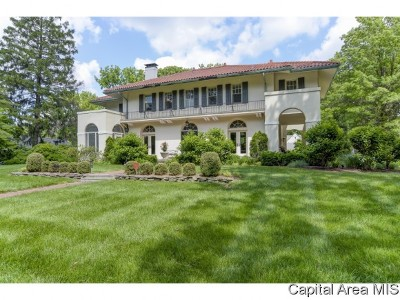 Springfield Single Family Home For Sale: 1630 S Wiggins Ave