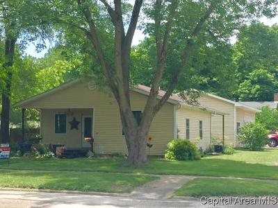Petersburg Single Family Home For Sale: 521 N 6th St