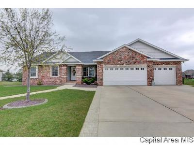 Sherman IL Single Family Home For Sale: $340,000