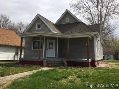 Jacksonville Single Family Home For Sale: 820 N Main