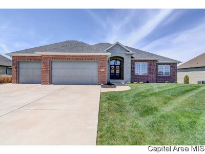 Springfield Single Family Home For Sale: 5309 Gentry Ridge