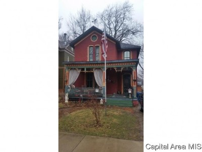 Springfield Single Family Home For Sale: 919 N 6th St
