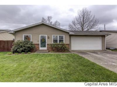 Springfield Single Family Home For Sale: 128 Hawkeye Way