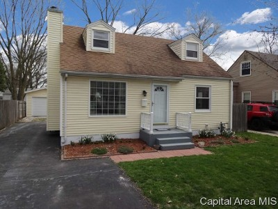 Springfield Single Family Home For Sale: 3024 S Lincoln
