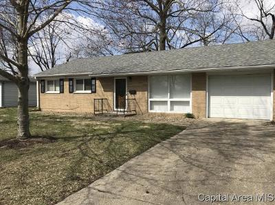 Springfield Single Family Home For Sale: 3305 St Francis