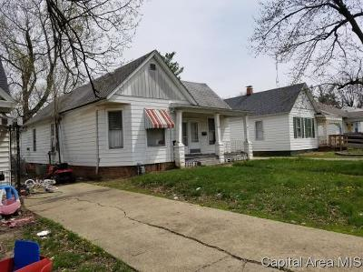 Springfield Single Family Home For Sale: 1118 N Macarthur Blvd