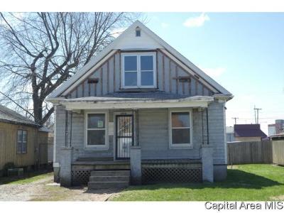 Springfield Single Family Home For Sale: 1806 E Converse Ave