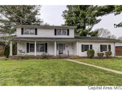 Springfield Single Family Home For Sale: 2106 Briarcliff Dr