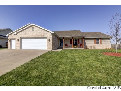 Pawnee Single Family Home For Sale: 1207 Michele Dr